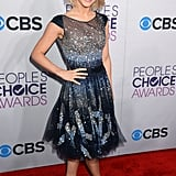 Julianne Hough Sparkles as She Kicks Off the 2013 PCAs Red Carpet