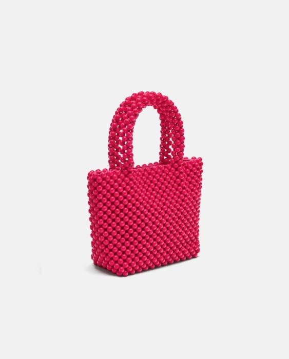Zara Beaded Mini Tote Bag ($69.95)