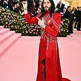 Jared Leto at the 2019 Met Gala