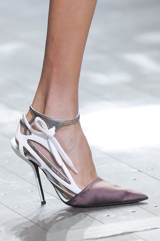 Ankle-Strap Pumps: Dior Spring 2014