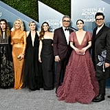 Dan Levy Wore a Rose Jacket to the SAG Awards 2020