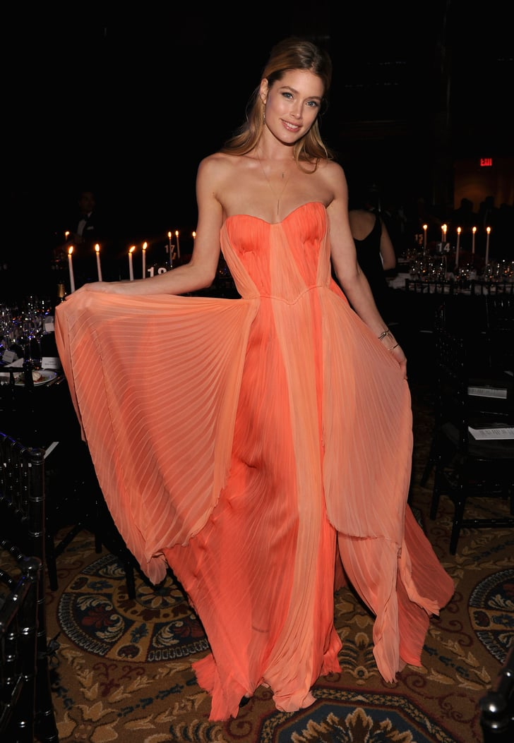 Doutzen Kroes The Best Red Carpet Style From Amfar 2013