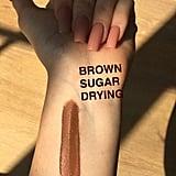Swatch of Kylie Lip Kit in Brown Sugar