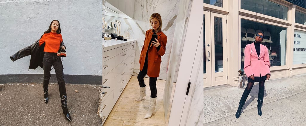 How to Style Knee-High Boots Like Celebrity and Fashion Girl