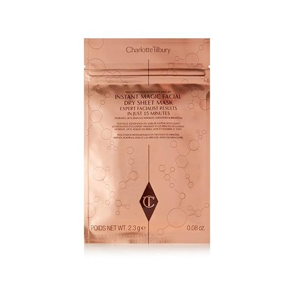 Charlotte Tilbury Instant Magic Dry Facial Sheet Mask x 4 ($126)