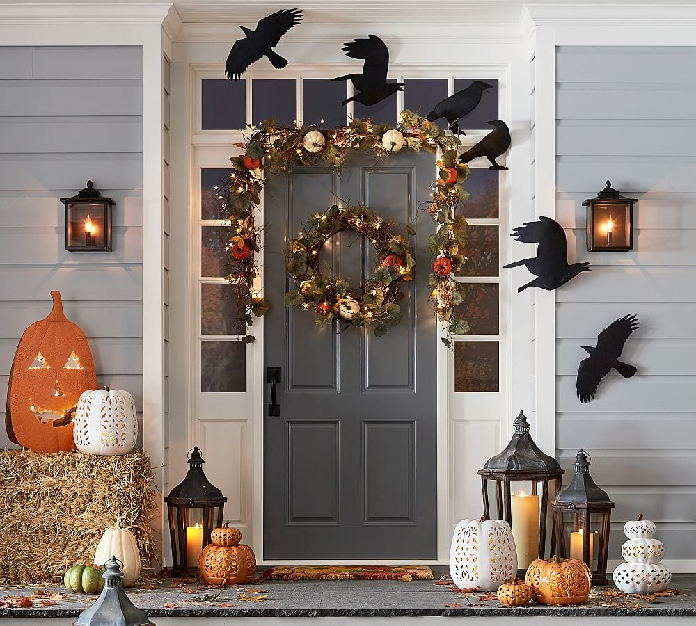share this link - Pottery Barn Halloween Decor