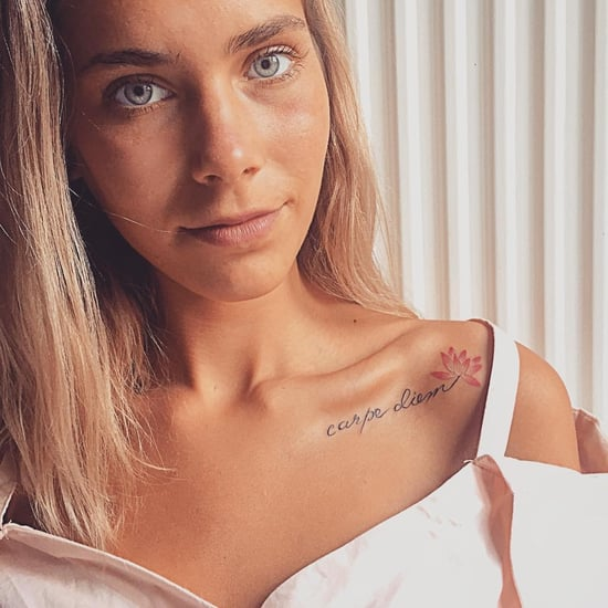 Sexy Collarbone Tattoos