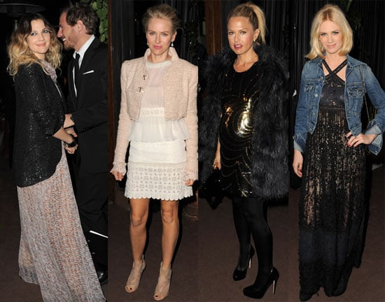 Pictures of Drew Barrymore, Rachel Zoe, Emma Stone, Naomi Watts, January Jones at Chanel Oscar Party 2011-02-27 13:29:14