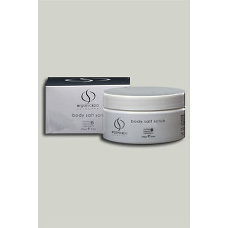 OrganicSpa Body Salt Scrub, $36.95
