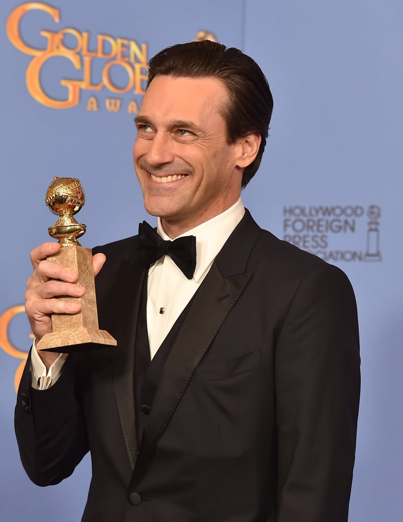 Jon Hamm Accepting For Best Actor in a Television Drama