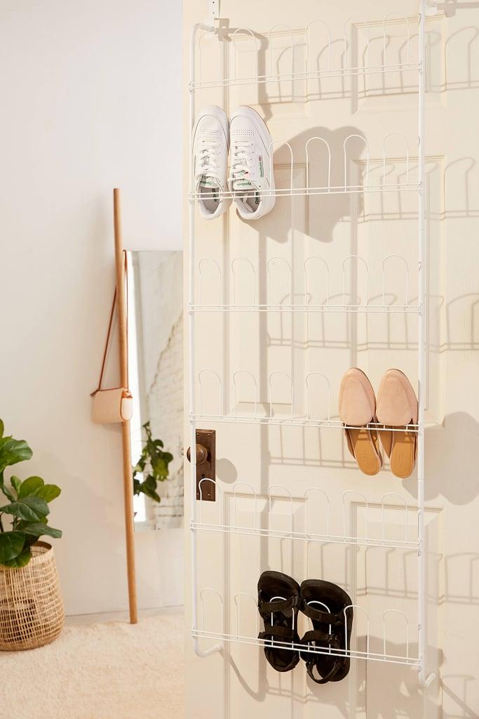 Metal Over-the-Door Shoe Rack