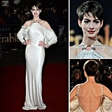 How gorgeous did Anne Hathaway look at the Les Misérables premiere in London?