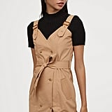H&M Cotton Bib Overall Dress