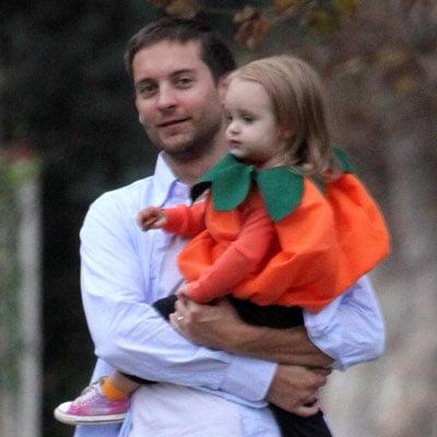 Tobey Gets a Scoop of Pumpkin