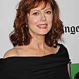 Susan Sarandon posed for photos on the red carpet at the Hollywood Film Awards gala in Los Angeles.