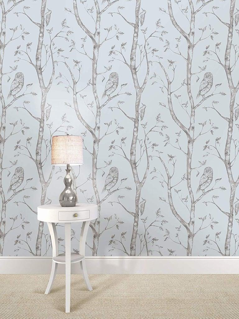 Wall Pops Gray Woods Wallpaper