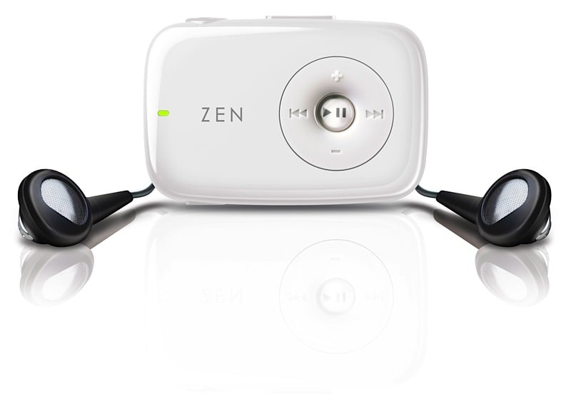 The New Ultra-Compact Zen Stone Mp3 Player
