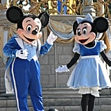 Mickey and Minnie have hundreds of unique outfits.