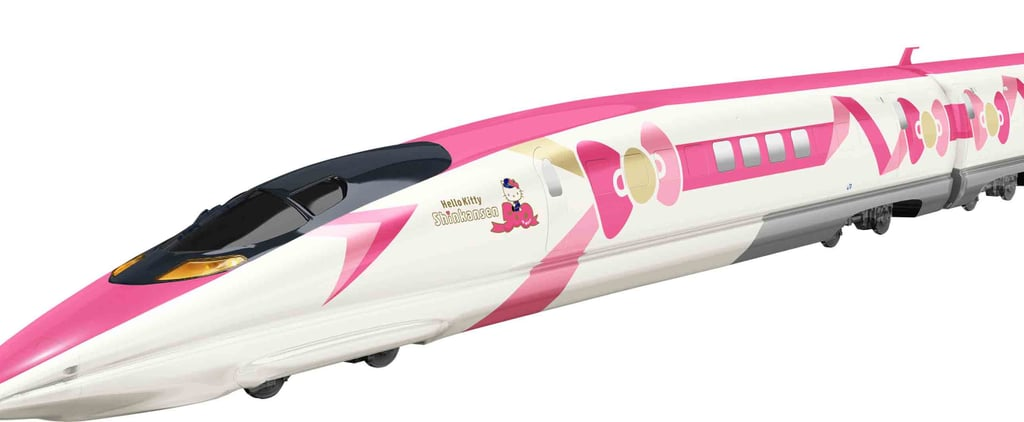 A New Hello Kitty Bullet Train Is Coming to Japan, and It's Undeniably Adorable