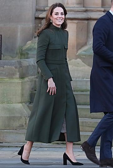 Kate Middleton's Alexander McQueen Coat and Zara Dress 2020