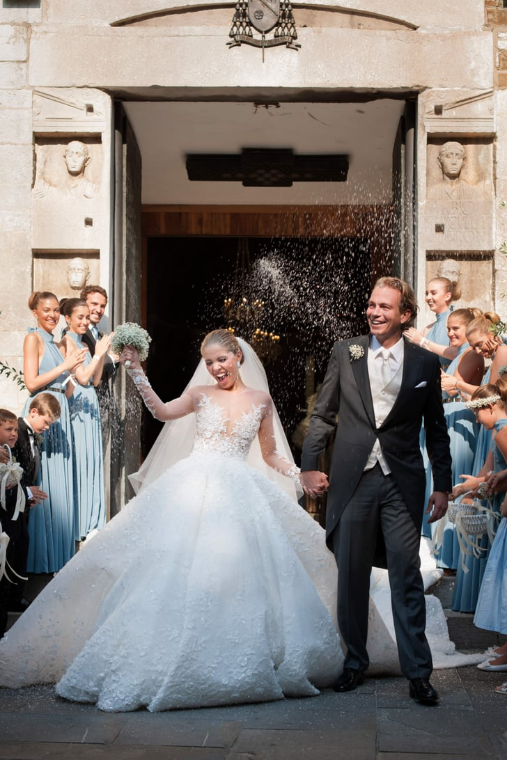 2017's Most Extravagant Wedding Dresses Look Like They're Right Out of a Fairy Tale
