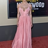 Sydney Sweeney at the Once Upon a Time in Hollywood LA premiere.