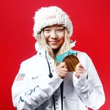 Chloe Kim s Mom Totally Nailed Her Olympic Manicure in Support of Her Daughter