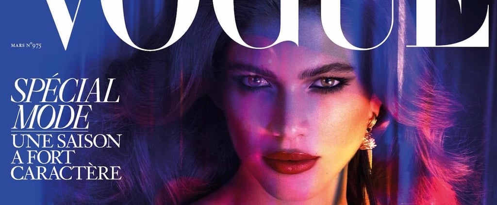Valentina Sampaio Vogue Paris Cover 2017