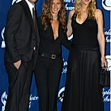 Matthew, Jennifer and Lisa smiled for snaps at the People's Choice Awards in 2003.