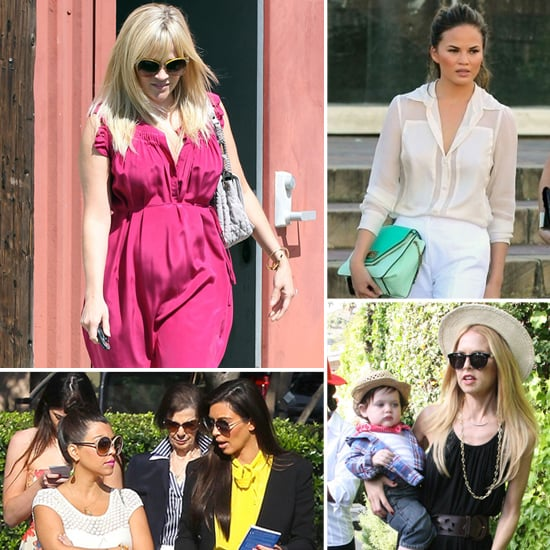 Celebrity Style Easter 2012