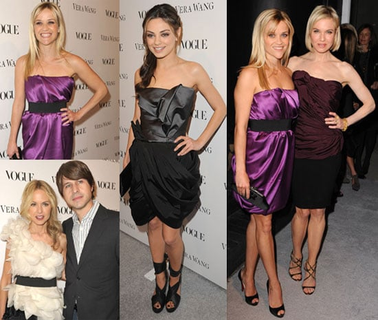 Photos of Reese Witherspoon, Nicky Hilton, Angie Harmon, Renée Zellweger, Rachel Zoe, Maggie Grace, and Mila Kunis at Vera Wang 2010-03-03 10:30:28