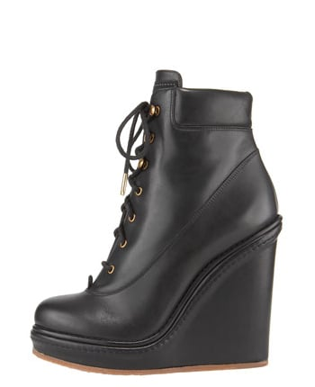 Marc by Marc Jacobs Lace-Up Wedge Ankle Boot ($550)