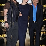 Bruce Robinson posed with Johnny Depp and Amber Heard.