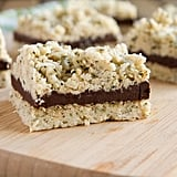 No-Bake N'Oatmeal Fudge Bars