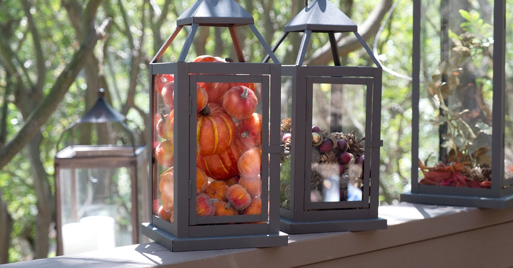 How to Spice Up Your Home With Fall Lanterns