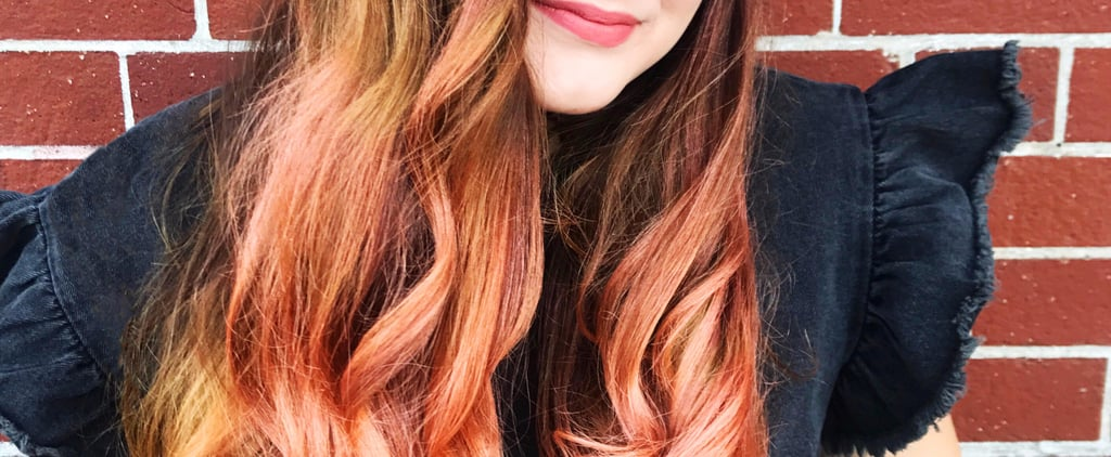 I Tried This $10 Rose Gold Hair Makeup, and It Made My Hair Look So Cool For Fall