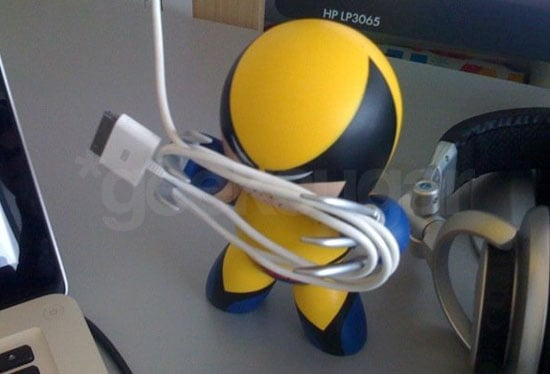 Wolverine Mighty Muggs Used as Cable Manager