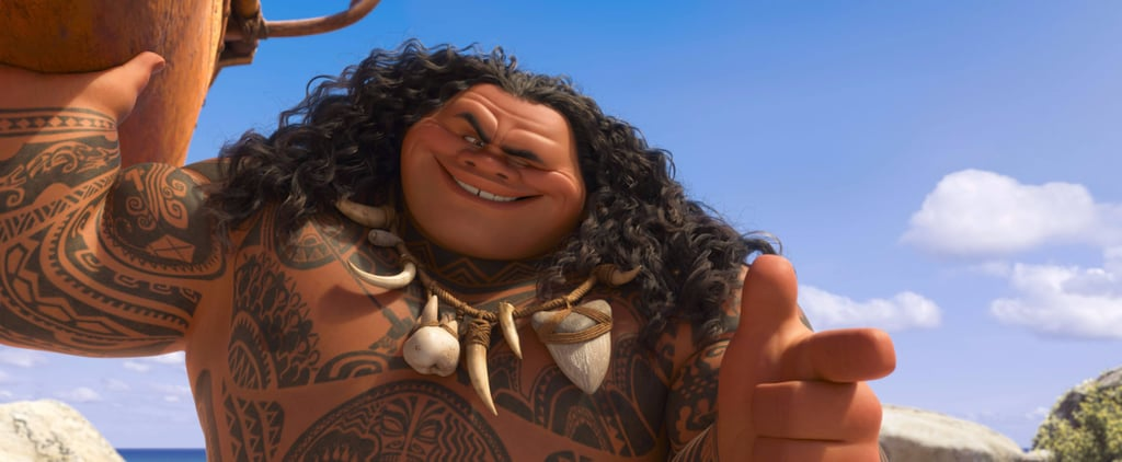 Dwayne Johnson's Moana Character Inspired by His Grandfather