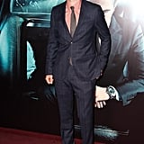 Robert Pattinsonarrived at the  Cosmopolis premiere held at the Le Grand Rex in Paris.