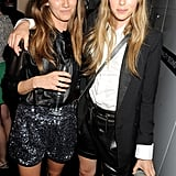 Jade Williams and Edie Campbell