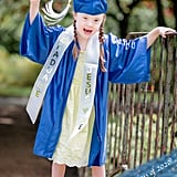 Sweet Photos of Kindergartener Celebrating Her Graduation