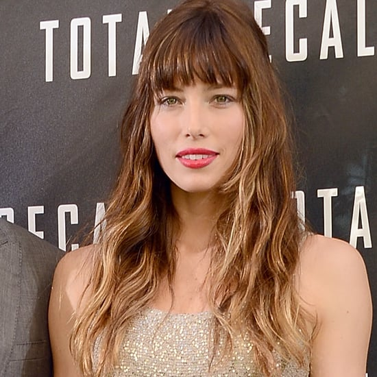 Jessica Biel in Oscar de la Renta at Total Recall | Video