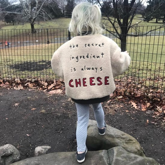 Drew Barrymore's Daughter's Cheese Jacket