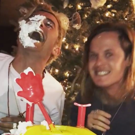 Katy Perry and Orlando Bloom Playing Pie Face Game Videos