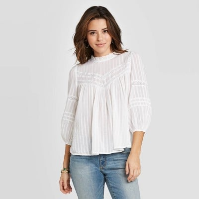 3/4 Sleeve Prairie Shirt