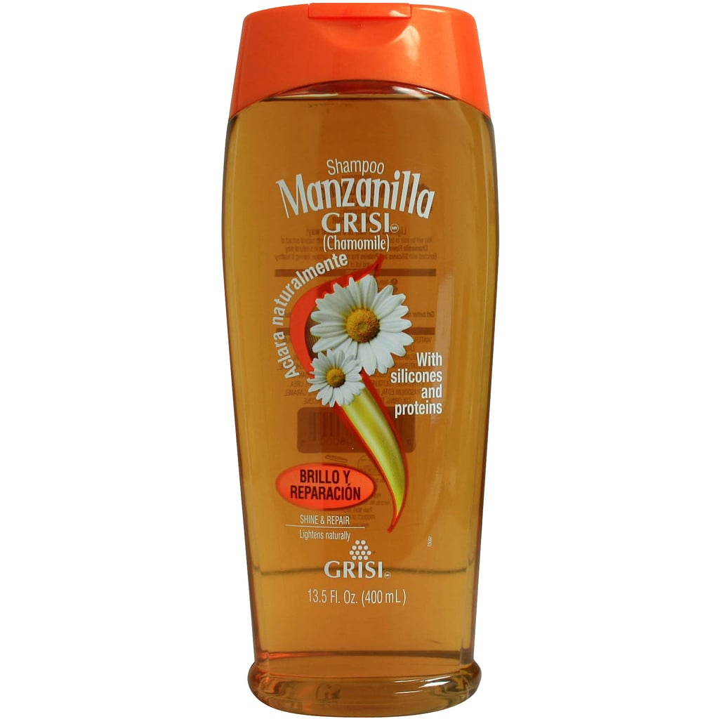 Grisi's Manzanilla Shampoo ($3) uses chamomile to slightly lighten and brighten your strands. Plus, you can't beat that price point.