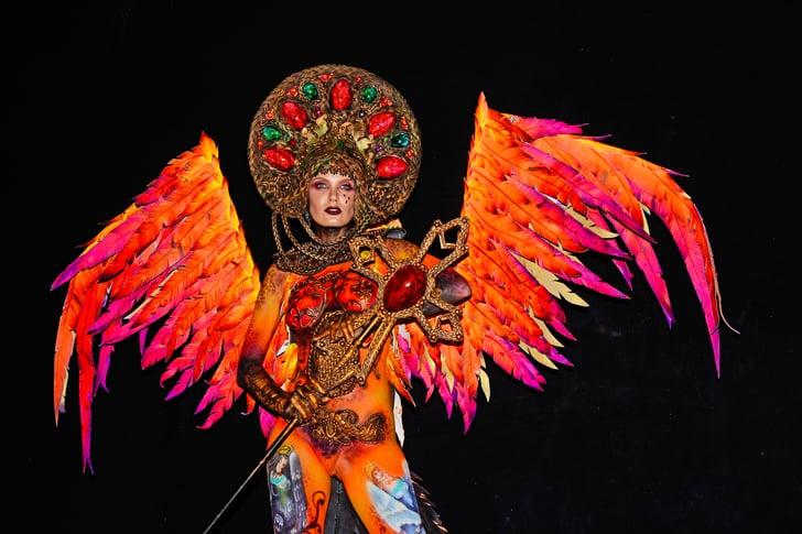 World Bodypainting Festival Pictures Popsugar Beauty
