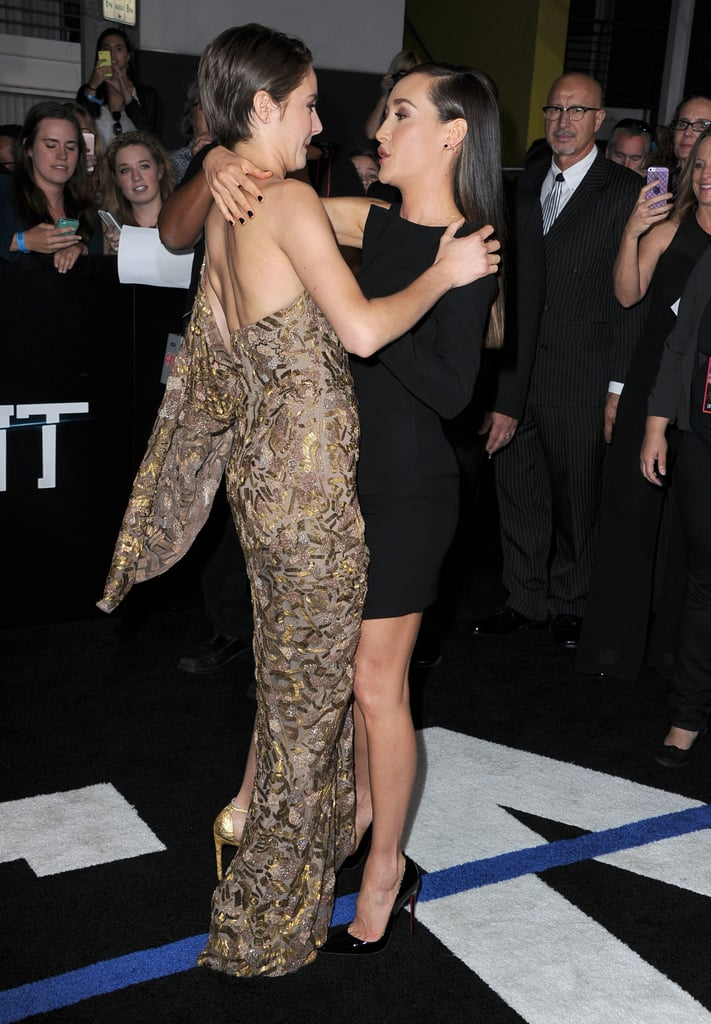 And Embraced Maggie Q