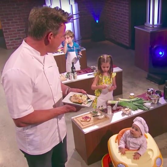 Gordon Ramsay James Corden Master Chef Junior Junior Video