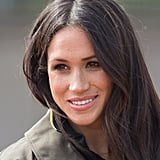 Meghan Markle's Loose Waves and Lipgloss